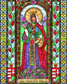 St. Elizabeth of Hungary by Brenda Nippert