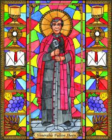 Ven. Fulton Sheen by Brenda Nippert