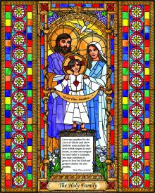 Holy Family by Brenda Nippert