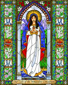 Our Lady of the Immaculate Conception by Brenda Nippert
