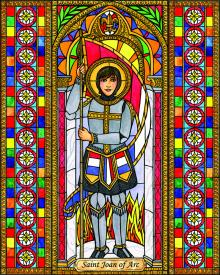St. Joan of Arc by Brenda Nippert