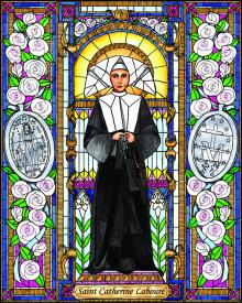 St. Catherine Labouré by Brenda Nippert