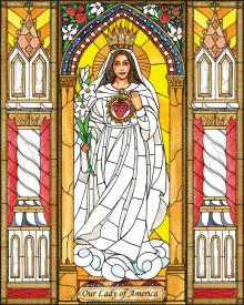 Our Lady of America by Brenda Nippert