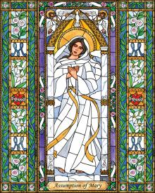 Assumption of Mary by Brenda Nippert