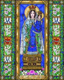 Our Lady of Consolation by Brenda Nippert