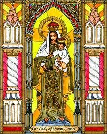 Our Lady of Mt. Carmel by Brenda Nippert