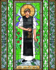 St. Leonard of Noblac by Brenda Nippert