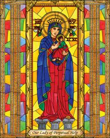 Our Lady of Perpetual Help by Brenda Nippert