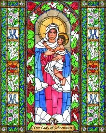 Our Lady of Schoenstatt by Brenda Nippert