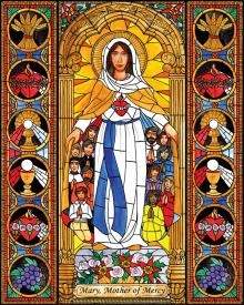 Mary, Mother of Mercy by Brenda Nippert