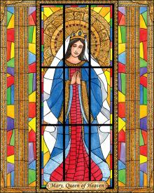 Mary, Queen of Heaven by Brenda Nippert