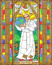 Pope Francis by B. Nippert