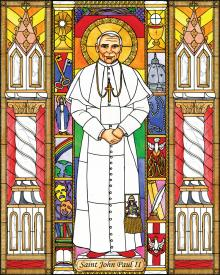 St. John Paul II by Brenda Nippert