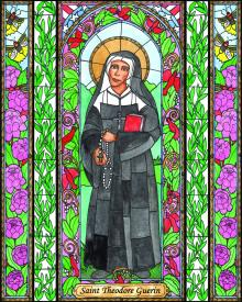 St. Mother Théodore Guérin by Brenda Nippert