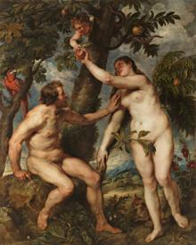 Adam and Eve - Museum Religious Art Classics