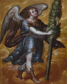 Angel Carrying a Cypress - Museum Religious Art Classics