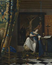 Allegory of Catholic Faith - Museum Religious Art Classics