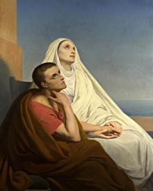 Sts. Augustine and Monica - Museum Religious Art Classics
