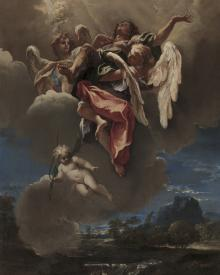 Apotheosis (Rise to Heaven) of a Saint - Museum Religious Art Classics