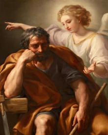 Dream of St. Joseph - Museum Religious Art Classics