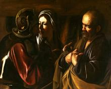 Denial of St. Peter - Museum Religious Art Classics