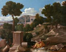 St. John the Evangelist on Patmos - Museum Religious Art Classics