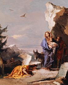 Flight into Egypt - Museum Religious Art Classics