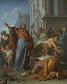 Miracles of St. James the Greater - Museum Religious Art Classics