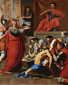 St. Paul Exorcizing Possessed Man - Museum Religious Art Classics
