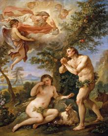 Rebuke of Adam and Eve - Museum Religious Art Classics