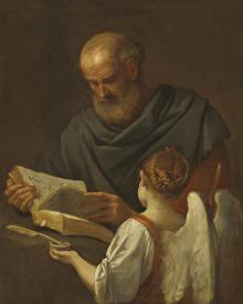 St. Matthew and Angel - Museum Religious Art Classics