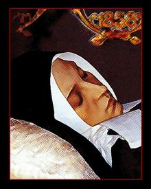 St. Bernadette, Death of by D. Paulos