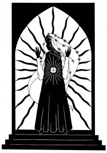 Our Lady of the Blessed Sacrament by Dan Paulos