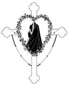 Our Lady of the Rosary by Dan Paulos