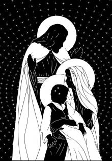 Holy Family by Dan Paulos