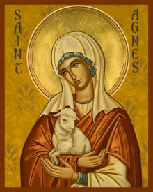St. Agnes by Joan Cole