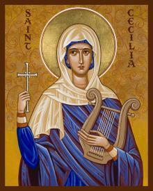 St. Cecilia by Joan Cole