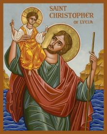 St. Christopher by Joan Cole