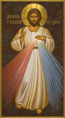 Divine Mercy by Joan Cole