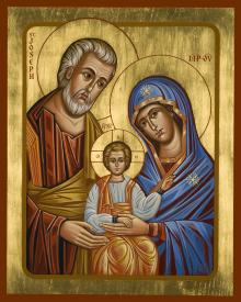 Holy Family by Joan Cole