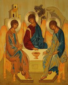 Holy Trinity by Joan Cole