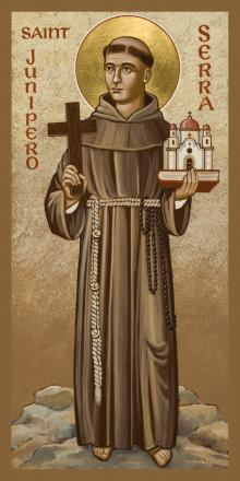 St. Junipero Serra by Joan Cole