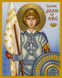St. Joan of Arc by Joan Cole