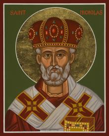 St. Nicholas by Joan Cole