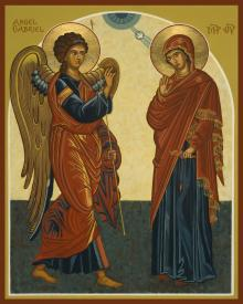Annunciation by Joan Cole