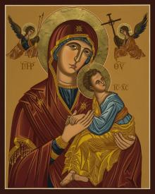 Our Lady of Perpetual Help - Virgin of Passion by Joan Cole