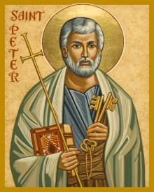 St. Peter by Joan Cole