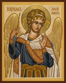 St. Raphael Archangel by Joan Cole