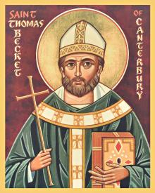 St. Thomas Becket by Joan Cole