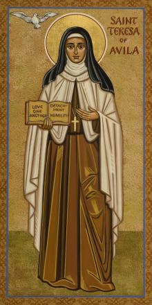 St. Teresa of Avila by Joan Cole